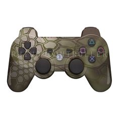 PS3 controller  Wireless Glossy  WTP-708-Kryptek-Mandrake Custom Painted- Without Mods