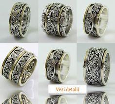 Regal Gold: Inele pe degetul mijlociu Napkin Rings, Opal, Rings For Men, Wedding Rings, Engagement Rings, Gold, Israel, Jewelry, Rings For Engagement