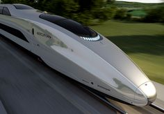 A new futuristic concept high-speed bullet train named Mercury, designed by Priestmangoode has been unveiled in the UK, that would be capable of speeds upto 225 mph. Locomotive, Future Transportation, High Speed Rail, Rail Transport, Public Transport, Electric Train, Speed Training, Train Set, Train Tracks