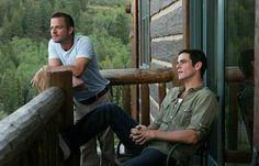 Carmine Giovinazzo and Eddie Cahill in the countryside surrounding Vail, Colorado for Watch Magazine