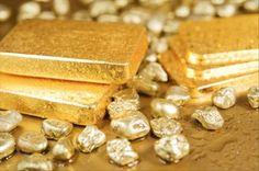 Gold Nuggets & Ingots
