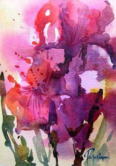 Fleurs - Jean Claude Papeix - Picasa Web Albums #watercolor jd