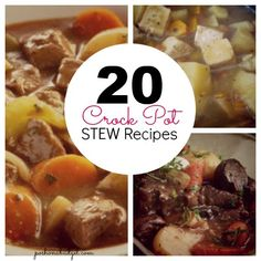 Wow- these are some great #recipes for Crock Pot Stew