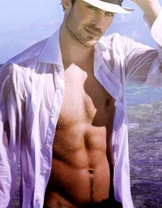 Ian Somerhalder, eye candy for the day! You're welcome ladies!