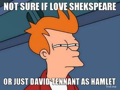 I'm gonna excuse the RIDIC wrong spelling of Shakespeare because it's pretty funny...