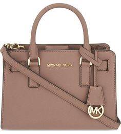 MICHAEL MICHAEL KORS - Dillon small leather satchel | Selfridges.com