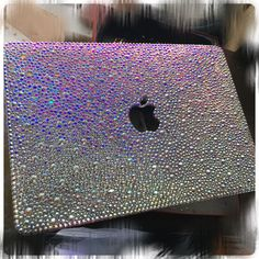 Ab crystals rainbow like effect crystals for pro 13 retina ✨hard MacBook case laptop case bling bling rhinestone cases