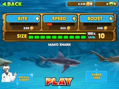 hungry shark evolution online cheats