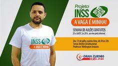 Concurso INSS - Aula Grátis de Direito Constitucional - Prof. Wellington...  http://w500.blogspot.com.br/