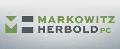 Magneto rebrands Markowitz Herbold. #logo #branding #design