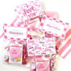 Free printable Valentine's Day treat bags   eHow UK