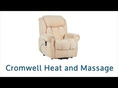 Equipped with a heat & massage feature the Cromwell Riser Recliner is a great way to sit back and relax. To find out more call CareCo on 0800 111 4774!