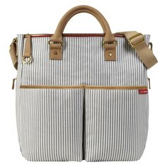 Skip Hop  Duo Essential Diaper Bag French Stripe Limited Edition **I like this one best but it might be too small**
