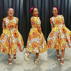 Ankara Styles: They Are Trendsetting And Unique - Wedding Digest Naija Nigerian Ankara Dresses, Ghana Dresses, Nigerian Dress Styles, Ankara Dress Styles, Kente Styles, Ankara Gowns, African Dresses For Women, African Attire, African Fashion Dresses