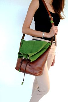 Hey, I found this really awesome Etsy listing at https://www.etsy.com/listing/152539126/camel-brown-and-green-multiform-leather