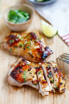 This chicken completely brings the heat. Get the recipe from Rasa Malaysia.   - Delish.com