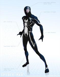 Spider-Man Black ( Marvel Remix)