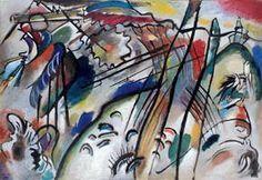 Improvisation 28 (second version) (1912) by Wassily Kandinsky