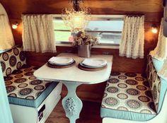 80 Best RV Camper Interior Remodel Ideas (15)