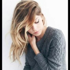 Ombre - I want to do this with my hair.