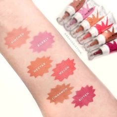 Jen Here's a look at the new Blush Bomb Color Drops swatches Natural Glowy Makeup, Glossy Makeup, Beauty Book, My Beauty, Beauty Makeup, Classic Beauty, Makeup Inspo, Beauty Skin, Makeup Ideas