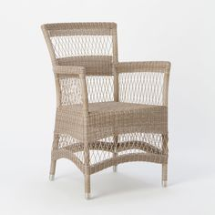 Open Weave Stripe Chair in Outdoor Living FURNITURE + ACCENTS Furniture Seating at Terrain