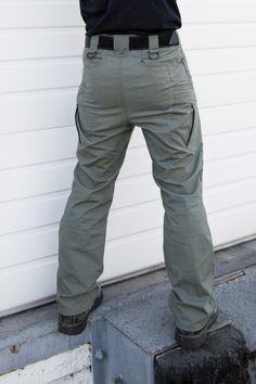 Tactical pants back.