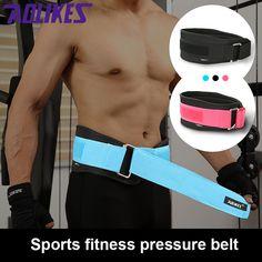 0ae985ef4c Sports Waist Support Weightlifting belt Fitness Gym Back Brace support belt  Bodybuilding Home Gym Fitness Training. Adjustable ...