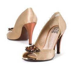 Golden Bridge | RSociety #heels yellowladybird korean independent designer k-pop luxury