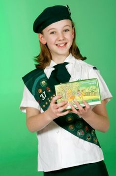 Sunny Satrom wears a Cadette uniform from the late 1960s while holding a box of Thin Mints cookies from the same era.   Read more: http://billingsgazette.com/news/local/gallery-girl-scout-uniforms-then-and-now/collection_24fcc5be-1e09-5605-afff-7e4bb02b2fb5.html#ixzz2rHRj9BlK Gallery: Girl Scout uniforms then and now