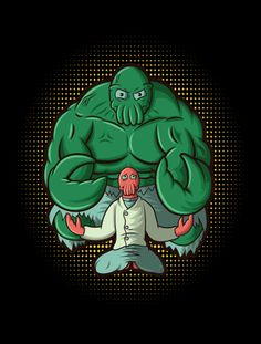 Zoidberg Hulk | The Monster within the Lobster | ForHumanPeoples