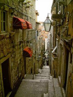 Little streets! Love it.  Croatia.