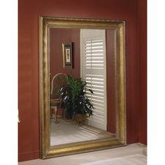 Bassett Mirror Old World Levanzo Leaner Mirror