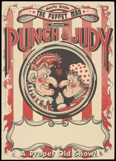 George Speaight Punch & Judy Collection (Poster) | V&A