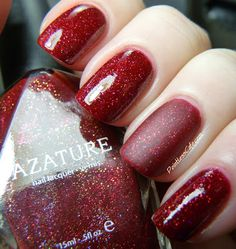 Azature Red - Swatches and Review | Pointless Cafe