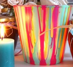 1000 id es sur peindre des bocaux de verre sur pinterest bombe de peinture - Peindre sur verre 100 modeles originaux ...