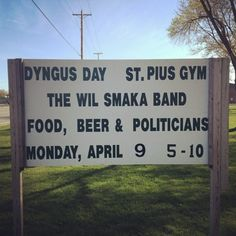 Dyngus Day. The Polish holiday that is Monday after Easter to celebrate the end of lent and sacrifice. Found only in South Bend Indiana and Buffalo New York.