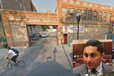"Ameya Pawar calledLincoln""an outrageous operator"" and threatenedto seize itsClark Street yard."
