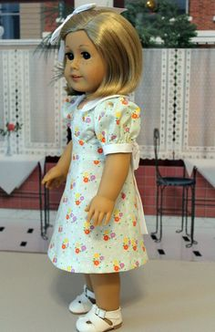 1930's Dress for Kit or Ruthie by BabiesArtUs on Etsy, $45.00