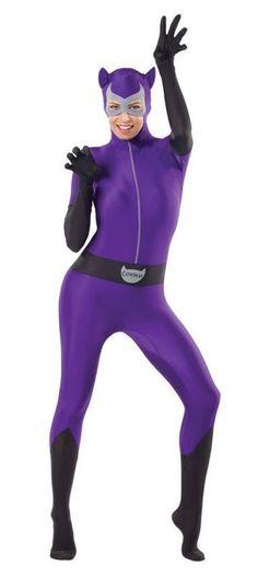 Amazon.com  Rubie s Costume Women s Dc Comics Superhero Style Catwoman  Bodysuit  Clothing e4bb3b14e