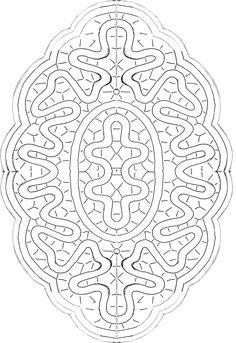 Centro tombolo Bobbin Lace Patterns, Macrame Patterns, Fabric Stiffener, Mandala, Romanian Lace, Bobbin Lacemaking, Lace Painting, Cutwork Embroidery, Crochet Flower Tutorial