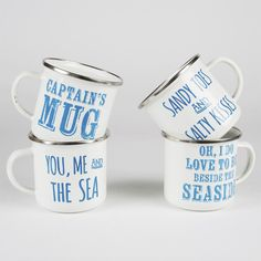 Enamel Mugs at the Beach Boutique