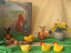 Atelier de Vier Jaargetijden: Wat staat er op de seizoentafel met Pasen ?