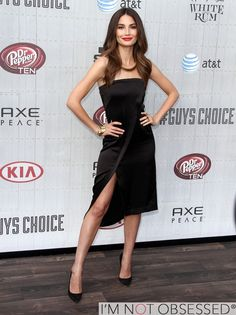 Lily Aldridge at The Spike TV Guys Choice Awards 2014