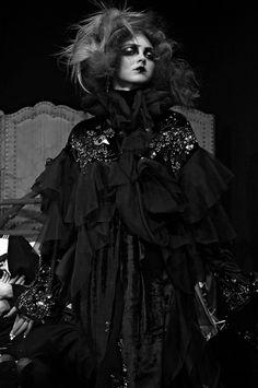 Lily Cole at John Galliano F/W 2007