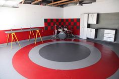 How To Paint Your Basement Floors and Add Color to Subterranean Spaces