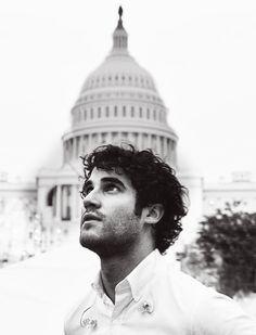 Darren Criss performing at the Capitol.