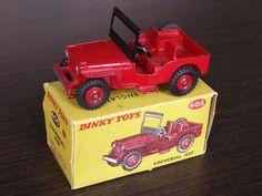 #405 Universal Jeep Eugene The Jeep, Corgi Toys, Military Diorama, Hot Wheels Cars, Small Cars, Automobile, Old Toys, Courses, Vintage Toys