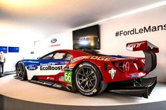 The Ford GT first captured the hearts and minds of many drivers around the world in the A mid-engine, two-seater sports car produced by Ford Sports Car Racing, Sport Cars, Auto Racing, Ford Gt40, Ford Mustang, Gt Cars, Race Cars, Ford Le Mans, Le Mans 2016