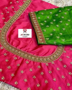 blouse designs For customising your outfits DM us/WhatsApp to 9133502232 . Cutwork Blouse Designs, Wedding Saree Blouse Designs, Embroidery Neck Designs, Simple Blouse Designs, Blouse Neck Designs, Blouse Simple, Blouse Designs Catalogue, Hand Work Blouse Design, Maggam Work Designs